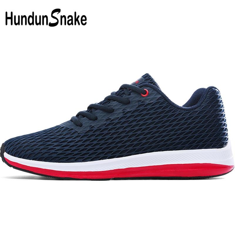 Hundunsnake Mesh Men Sport Shoes Men's Running Shoes 2018 Sneakers Breathable Tennis Male Chaussure Homme Basket Krassovki G-7