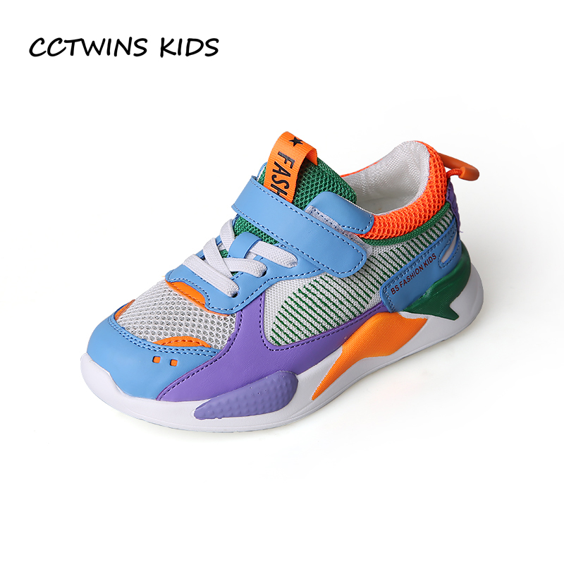 CCTWINS Kids Shoes 2019 Spring Fashion Boys Clearance Running Shoes Girls Casual Sport Sneaker ...