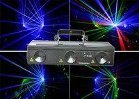 X9 RGB730 R650 150mW+G532 80mW+B445 500mW 730mw three eyes RGB laser party stage DJ bar club KTV disco studio lighting