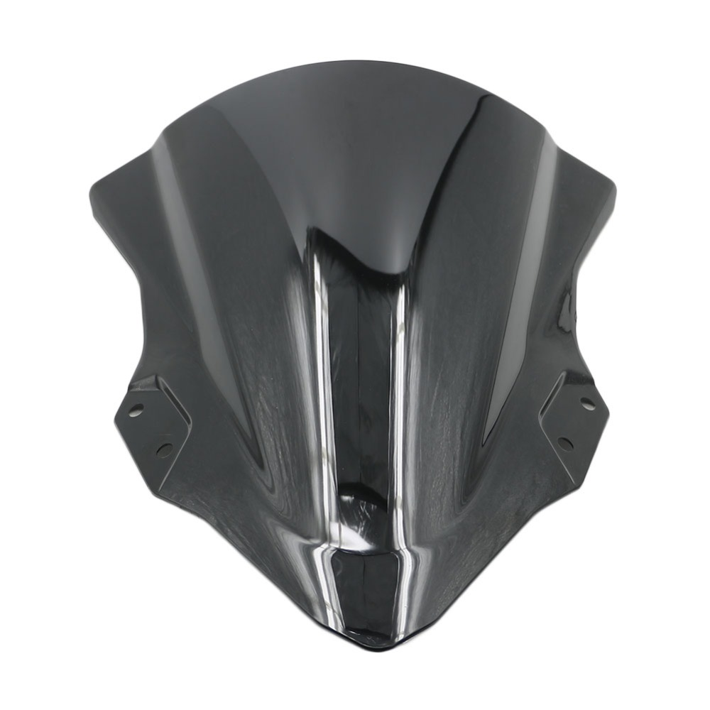 Motorcycle ABS Black Windshield <font><b>Windscreen</b></font> Wind Deflector for Kawasaki <font><b>Ninja</b></font> 250 <font><b>400</b></font> Ninja250 Ninja400 2018 image