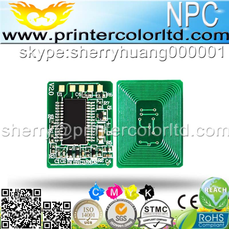 laser pinter spare parts color compatible cartridge for xerox 7400 toner reset chip