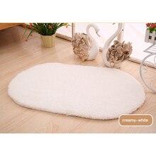 New Soft Faux Sheepskin Rug Mat Carpet Pad Anti-Slip Chair Sofa Cover For Bedroom Home Decor TSLM1
