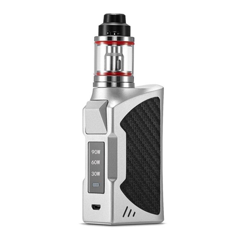 90 watt Große Power Riesigen Großen Rauch VAPE Elektronische Zigarette Kit Verdampfer Shisha Vaper Mechanische E-Zigaretten 2200 mah kapazität