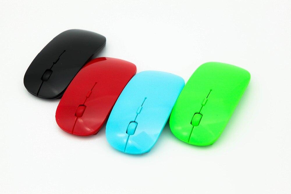 2017 Heißer Verkauf Ultradünne 2,4g Drahtlose Maus Ergonomisch Dpi Einstellbar Usb-empfänger Für Laptop Desktop Ultrabook