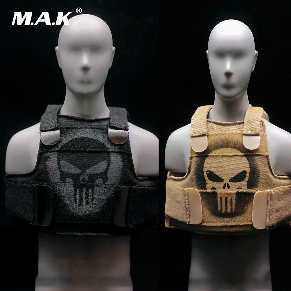 1//6 Scale Male Tactical Bulletproof Cloth Vest Black For 12 Figure Body Hot Toy