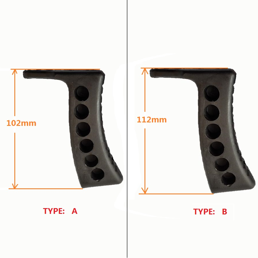 Mosin Nagant 1-Inch Extended Recoil Buttpad