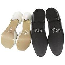 Hochzeit Schuhe Dekoration Ich Mich Tun Zu Acryl Strass Aufkleber