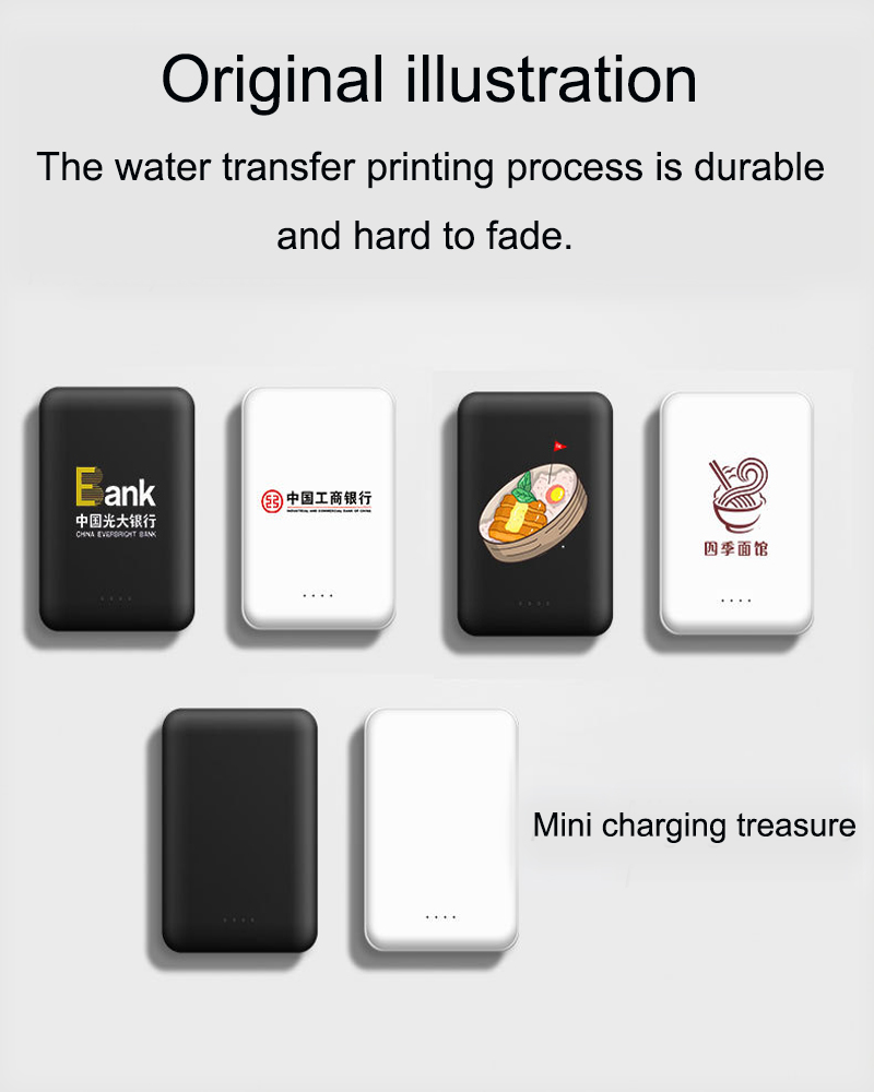 Small Portable 10000mAh Charging Power Bank For Xiaomi Mobile Phones 6
