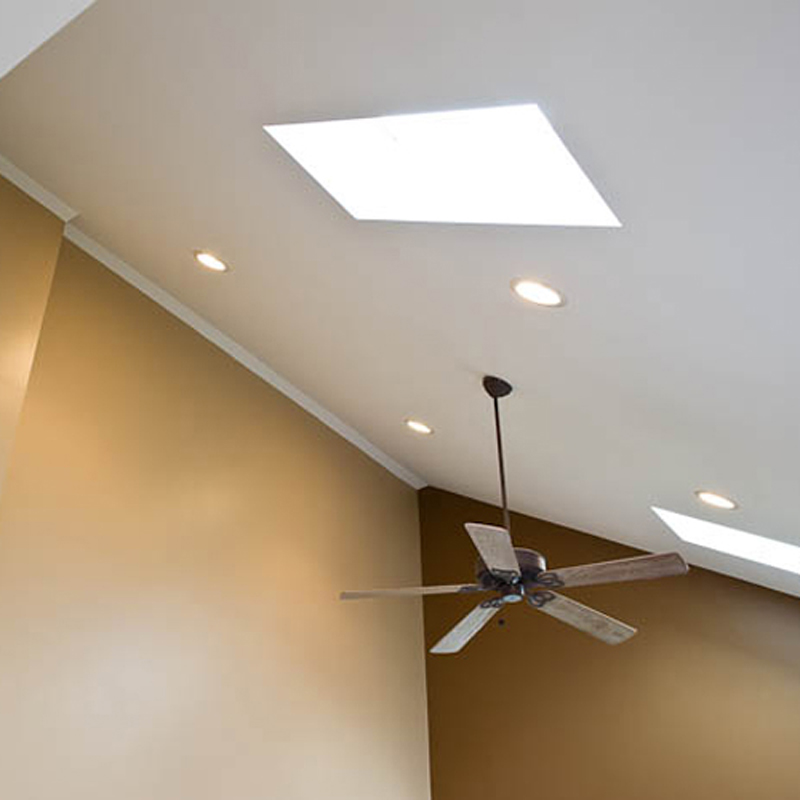 Recessed Lighting Thick Ceiling : Recessed ceiling lights bathroom with