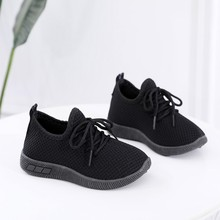 Children Infant Kids Shoes Baby Girls Boys Solid Sport Running Sneaker
