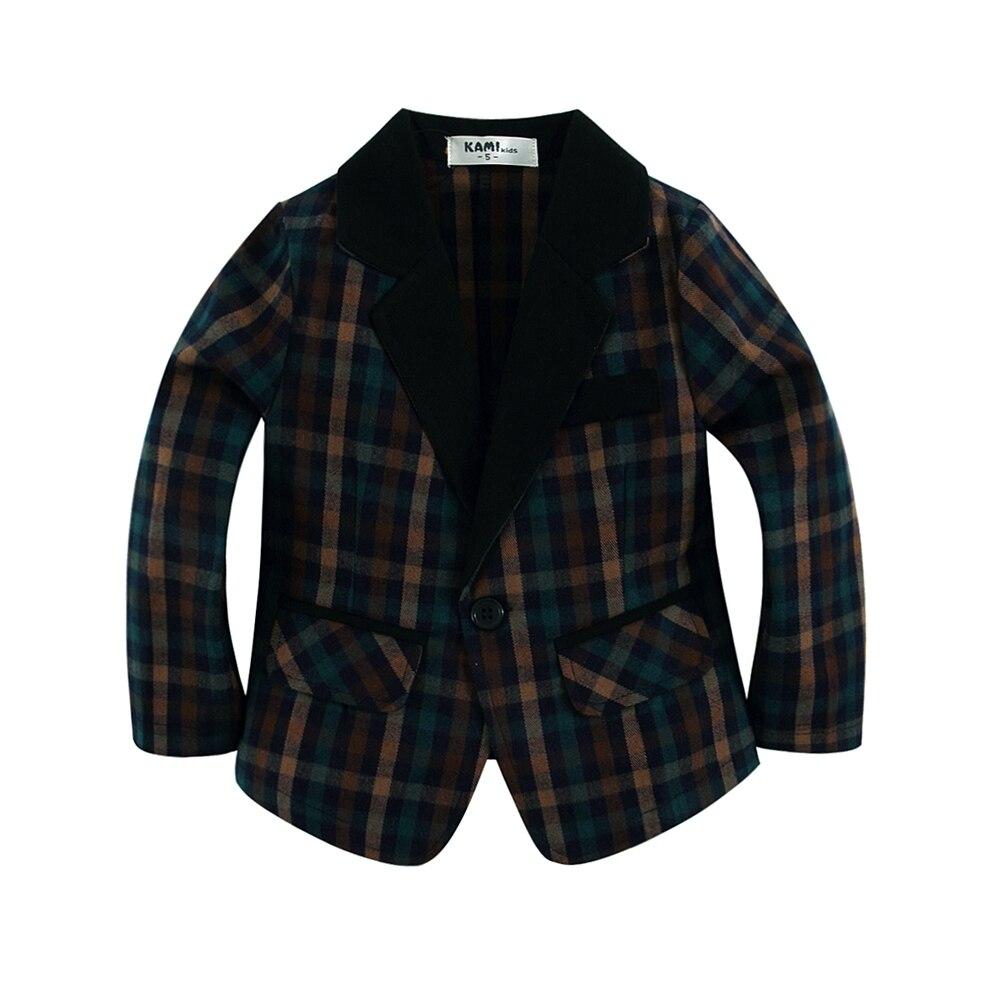 nueva llegada de algodón tejido 100% niño Blazer Boy con tela a - Ropa de ninos