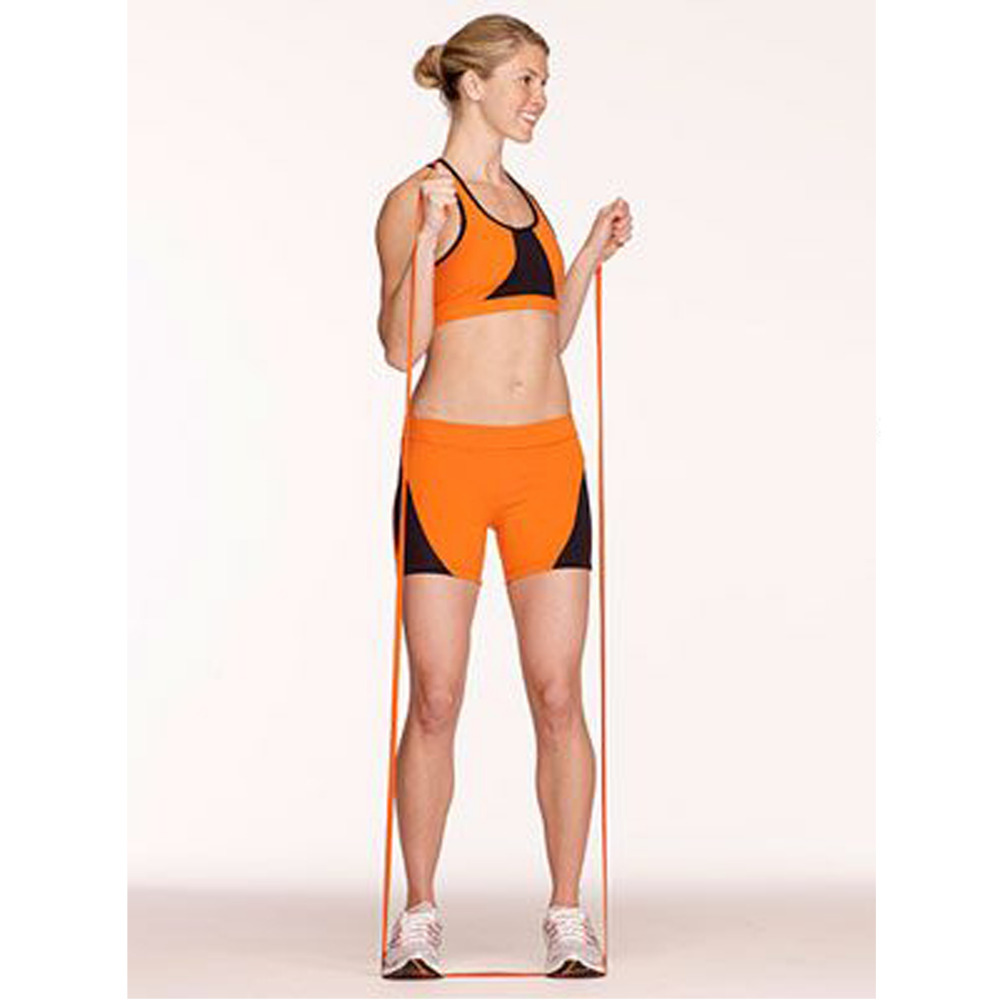 3m elastiska multifunktionella fitnessbälten styrketräningsdrag - Fitness och bodybuilding - Foto 2