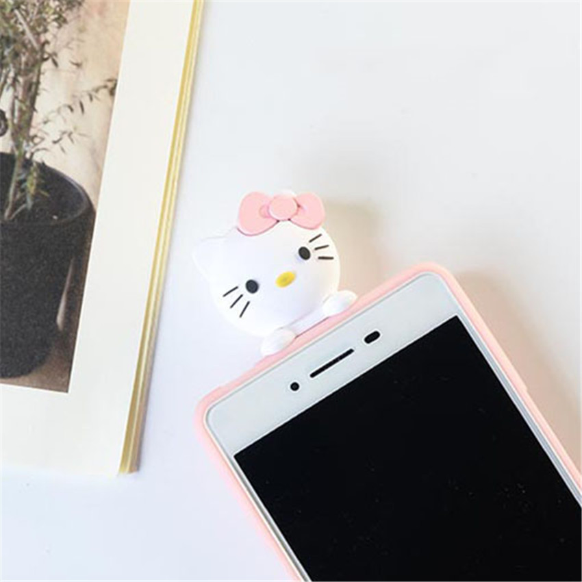 For Huawei Honor 9 Lite Case Cute 3D Pink Hello Kitty Cat Skin Cover Silicon Holder Phone Case For Huawei Honor 9 Lite 2017 Case