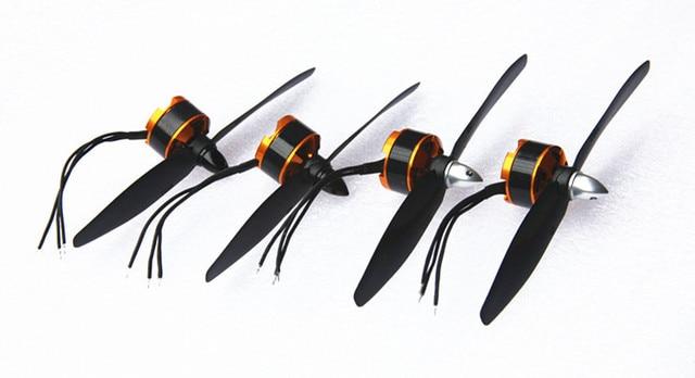 Moteur sans brosse 1806-2280kV et ensemble dhélice CCW 5030 CW pour Mini Multicopter quadrirotor