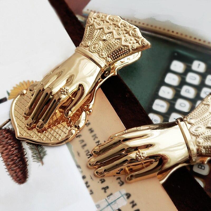 Classic Crave Fashion Alloy Metal Clip 10.3*5*3cm DIY Bookmark Gift 1 Piece