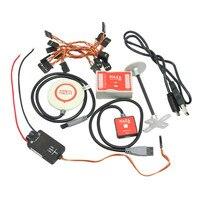 DJI Naza M Lite Multi Flyer Versie Vlucht Control Controller w/PMU Power Module & LED & Kabels & GPS & standhouder