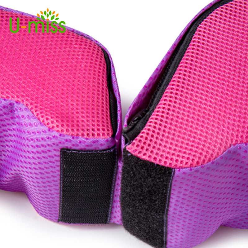 U-Miss Women Leg Travel Body Orthopedic Pillow Support For Sleeping Bed Plastic Ring Correction Postpartum Pelvic Memory Foam