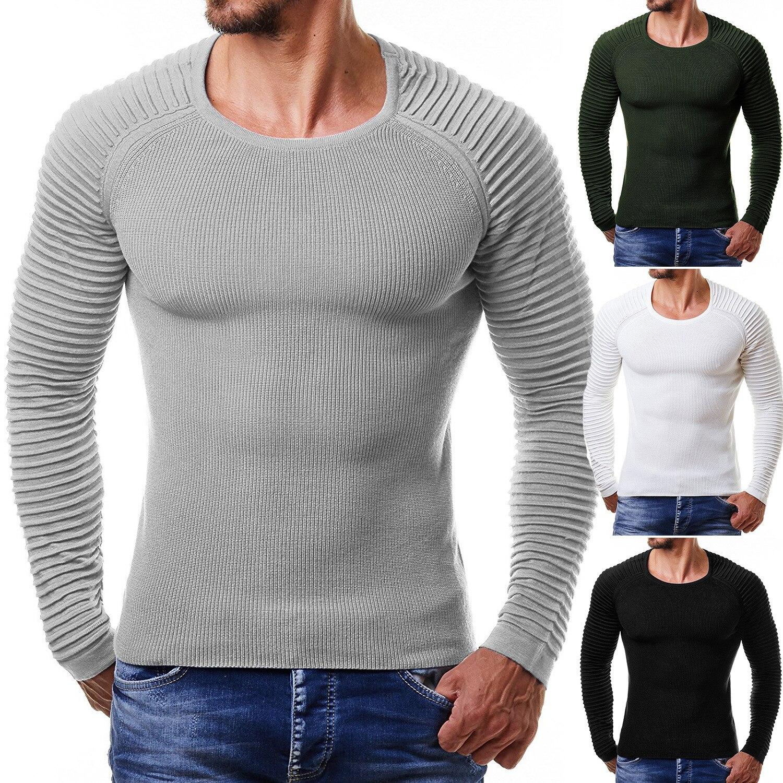 Ehrgeizig Neue 2019 Pullover Männer Pullover Rippe Streifen Hülse Von Europa Und Die Vereinigten Staaten Zu Verkaufen Wie Heiße Kuchen Fashion Männer Stricken Pullover In Vielen Stilen