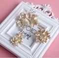 2015 New design Elegant golden pin bridal hair comb rhinestone pearl wedding hair jewelry accessories