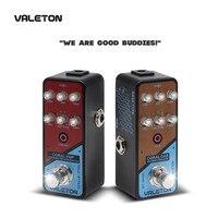 Valeton Amp Modeler Guitar Pedal Coral Amp of 16 Classic And Mainstream Guitar Amp Models Hi Gain Distortion