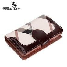 купить Woman Wallet Clutch Plaid Wallet Zipper Female Ladies Hot Change Women Luxury Credit Phone Card Holder Coin Purses For Girls онлайн