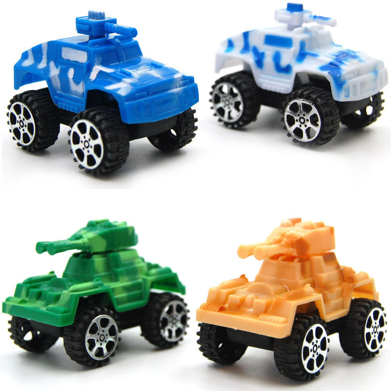 Small Toy Cars For Boys : Pcs lot kids small toys color plastic military mini