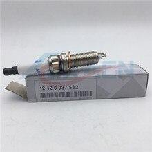 set of 6pcs original Iridium Spark Plugs 12120037582  ZR5TPP33 for BMW E82 E88 F10 F13 135i 535i X1 Spark Plug