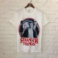 2018 Xieruis Stranger Things Print Women Men T Shirts Tee Hiphop Brand Designer Street Wear Men