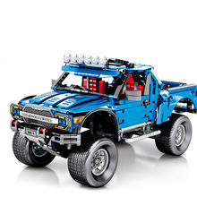 SEMBO Creator Expert Technique Mechanical Ford F-150 Raptor Model Building Blocks Sets Bricks kids Toys gift