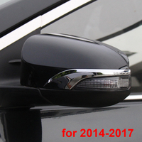 2pcs for TOYOTA Corolla 2007 2013 2014 2017 Rearview mirror decoration cover Trim