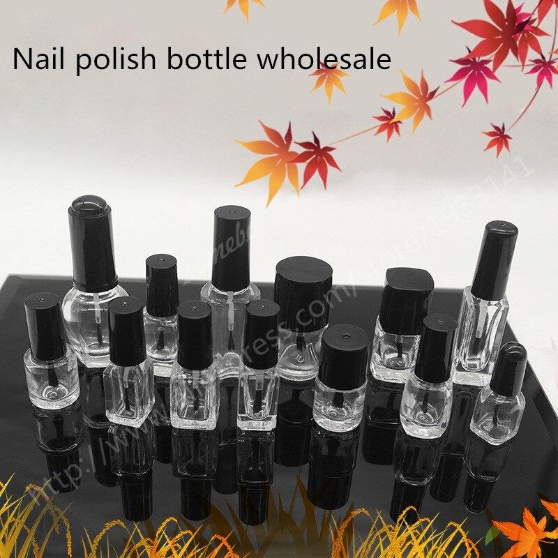How To Empty A Nail Polish Bottle: 10pcs/lot Factory Empty Nail Polish Bottle, Portable