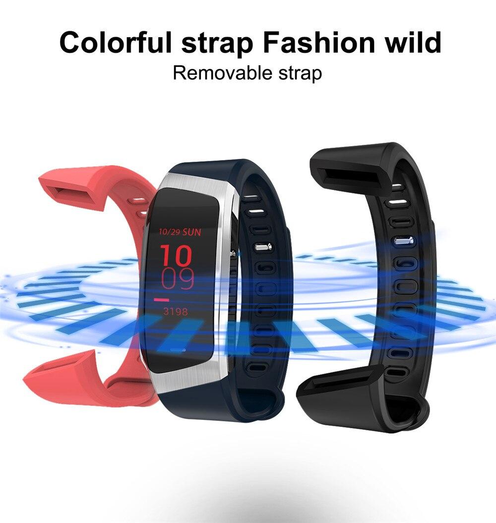 HTB12VMHB8mWBuNkSndVq6AsApXaw Greentiger E18 Smart Bracelet Blood Pressure Heart Rate Monitor Fitness Tracker smart watch IP67 Waterproof camera Sports Band