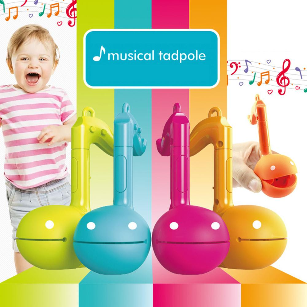 Best-Selling Cute Fun Otamatone Melody Musical Tadpole Note Shape Kids Electronic Music Instrument Toy Gift For Young Chilren