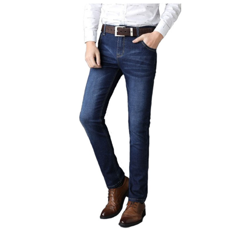 Slim Straight Classic Smart Casual Jeans