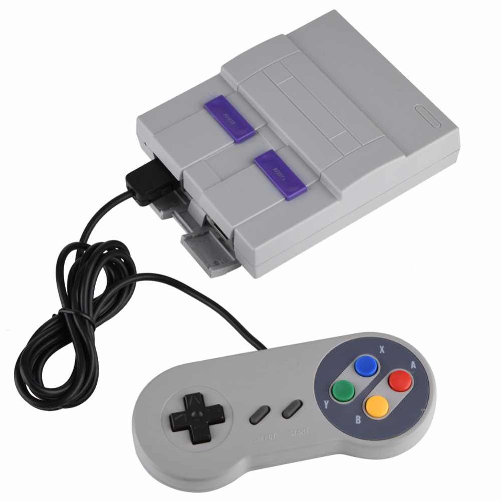 Household 16 BIT Built-in 94 Games Console System with Gamepad for SFC for  SNES Nintendo Game Games Consoles play with family