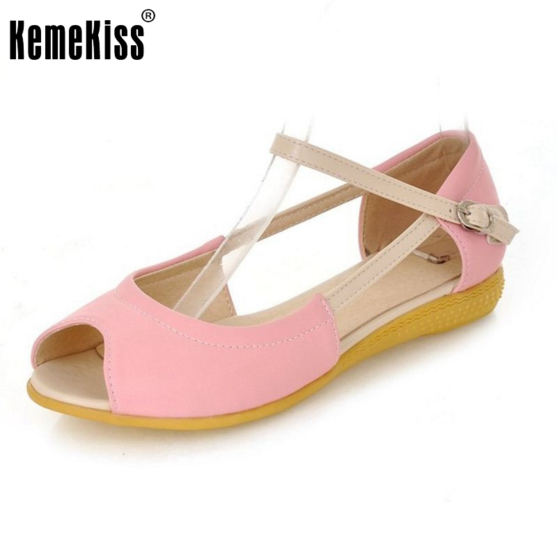 Women Peep Toe Flats Sandals Ankle Strap Leisure Sexy Cross Strap Gladiator Fashion Ladies Footwear Shoes Size 34-39 PA00570 women flat sandals fashion ladies pointed toe flats shoes womens high quality ankle strap shoes leisure shoes size 34 43 pa00290