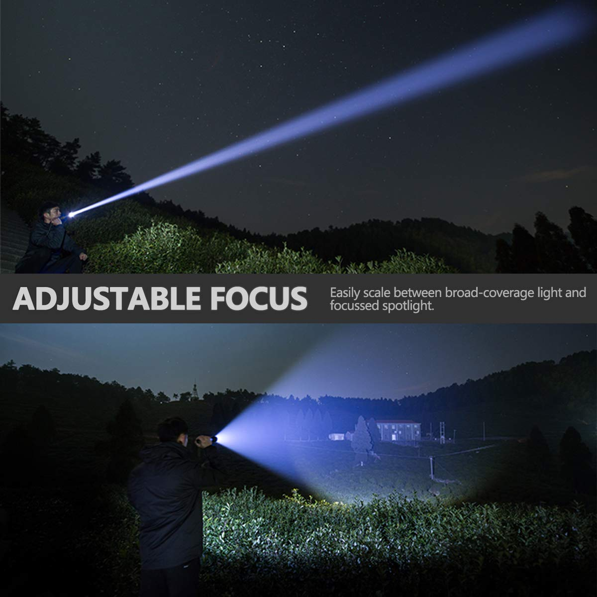 Drop Shipping xhp50.2 most powerful flashlight 5 Modes usb Zoom led torch xhp50 18650 or 26650 battery Best Camping, Outdoor 6