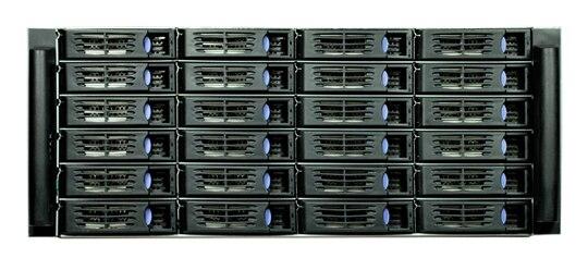 4U R4324 24 disk hot plug server box NSN storage industrial control cabinet SATA SAS