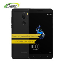 Coolpad Cool Play 6 Smartphone 5 5 Inch FHD 6GB 64GB Snapdragon 653 Octa Core 4060mAh