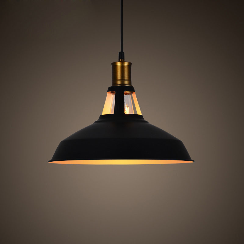ФОТО Retro Brief Vintage American Country Inudstrial Loft Iron Edison Pendant Lamp Kitchen Dinning Room Home Decor Lighting Fixture
