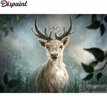 Dispaint Full Square/Round Drill 5D DIY Diamond Painting Animal deer Embroidery Cross Stitch 3D Home Decor A12744