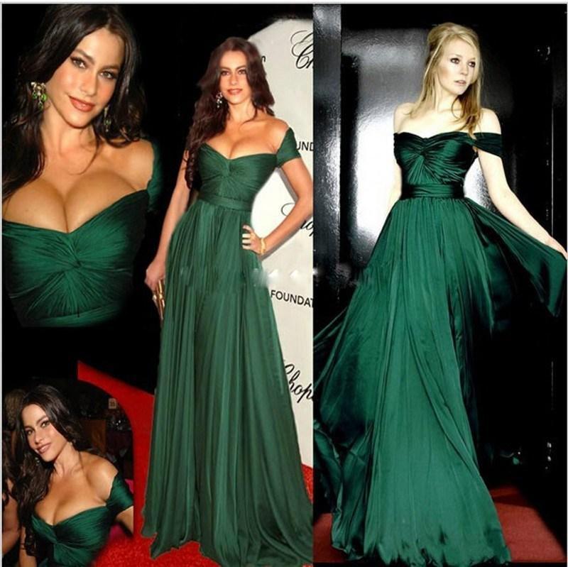 Emerald Green Dress Red Carpet