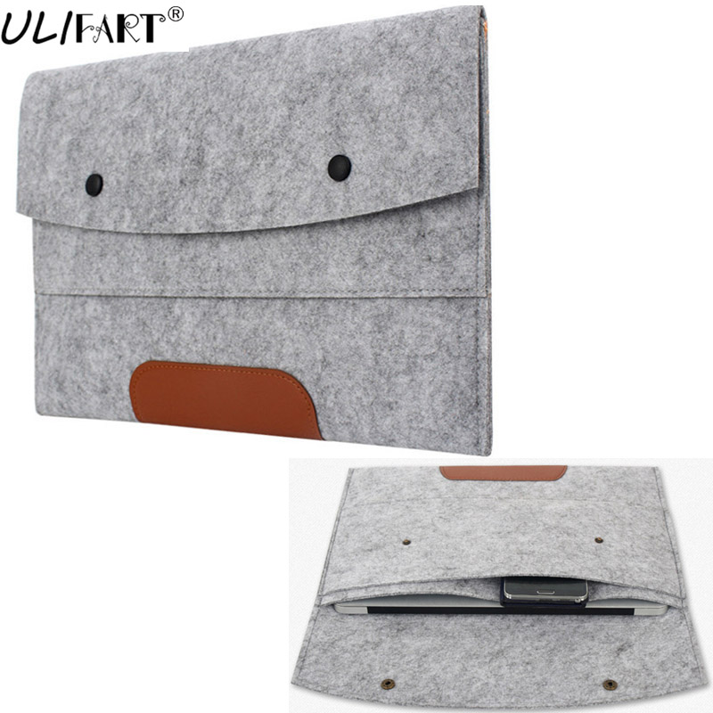 ULIFART 11-Inch Universal Felt Tablet Laptop Sleeve Pouch Case For ChuWi Hi10 For Ipad Pro 10.5inch Tablet PC Pouch Bag