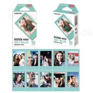 Image 4 - 30 sheets Fujifilm Instax Mini Film Instant Photo Paper Blue/Black/Pink For Mini 9 8 8+ 7s 90 70 25 50s Camera SP 2 SP 1 Printer