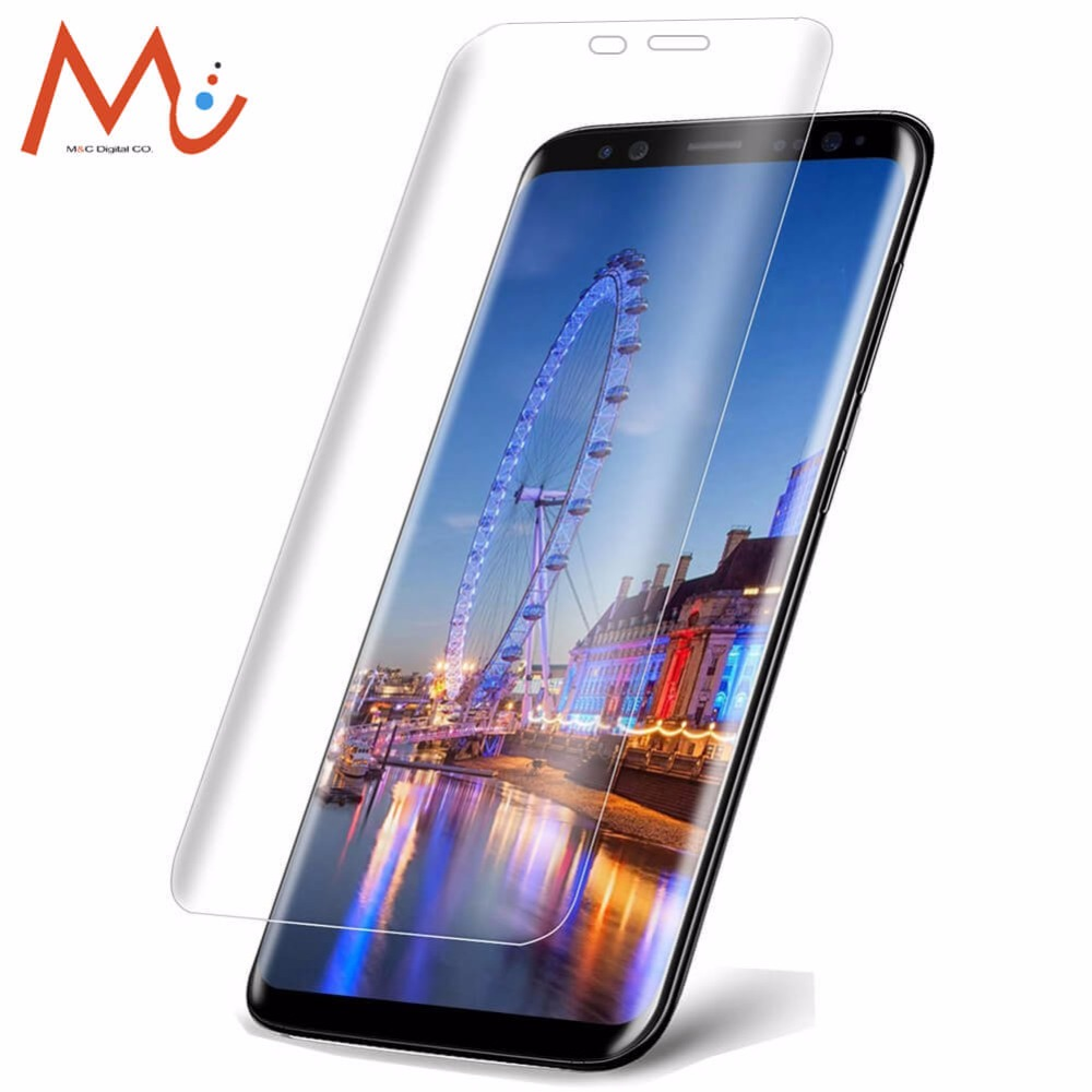 Tempered Glass For Samsung Galaxy S8 / S8 Plus 3D Curved Screen Protector For Galaxy S8 Plus