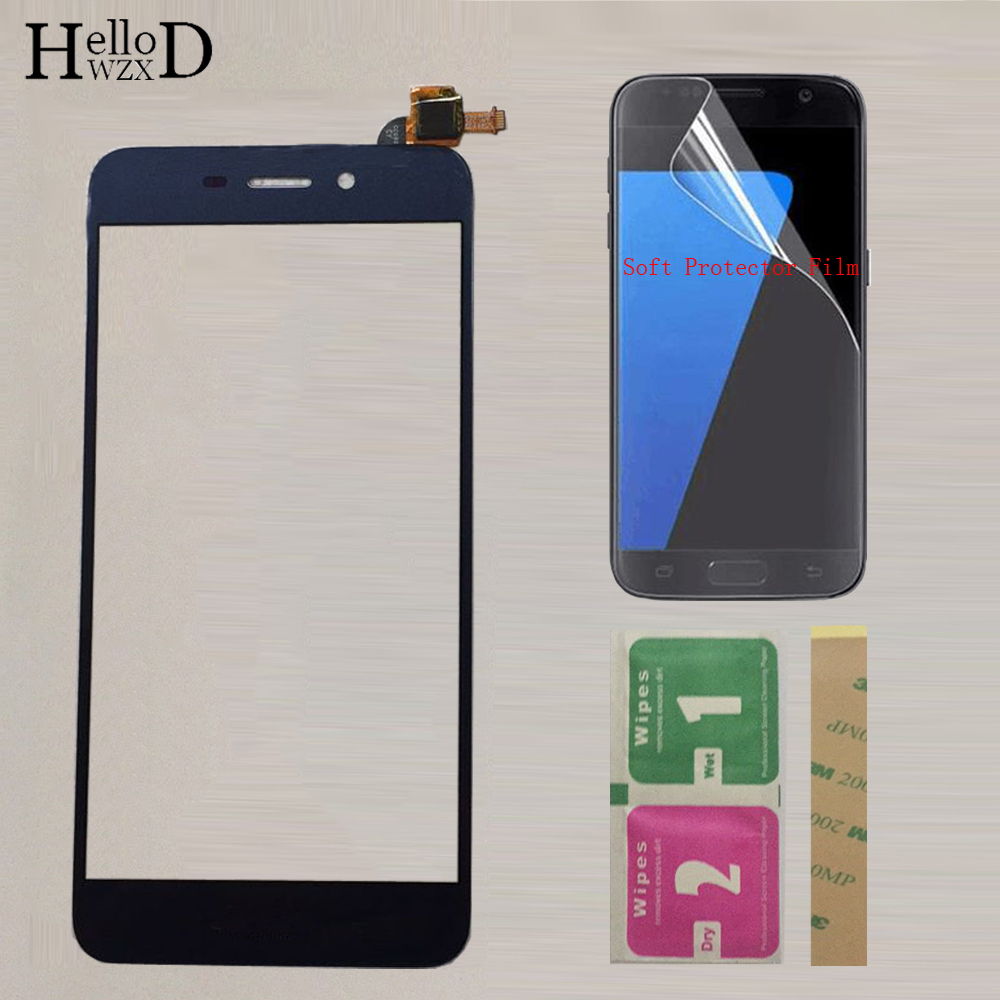 Mobile Touch Screen TouchScreen For HuaWei Honor 6C Pro JMM-L22 Front Glass Touch Screen Digitizer Panel Sensor