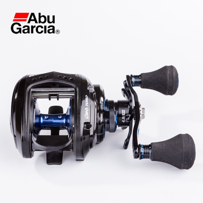 цена Abu Garcia REVO T2 BST 7+1BB 4.9:1/6.2:1 Baitcasting Reel L/R Hand Anti-Corrosion Water Drop Wheel Pesca Tool Lure Fishing Reels