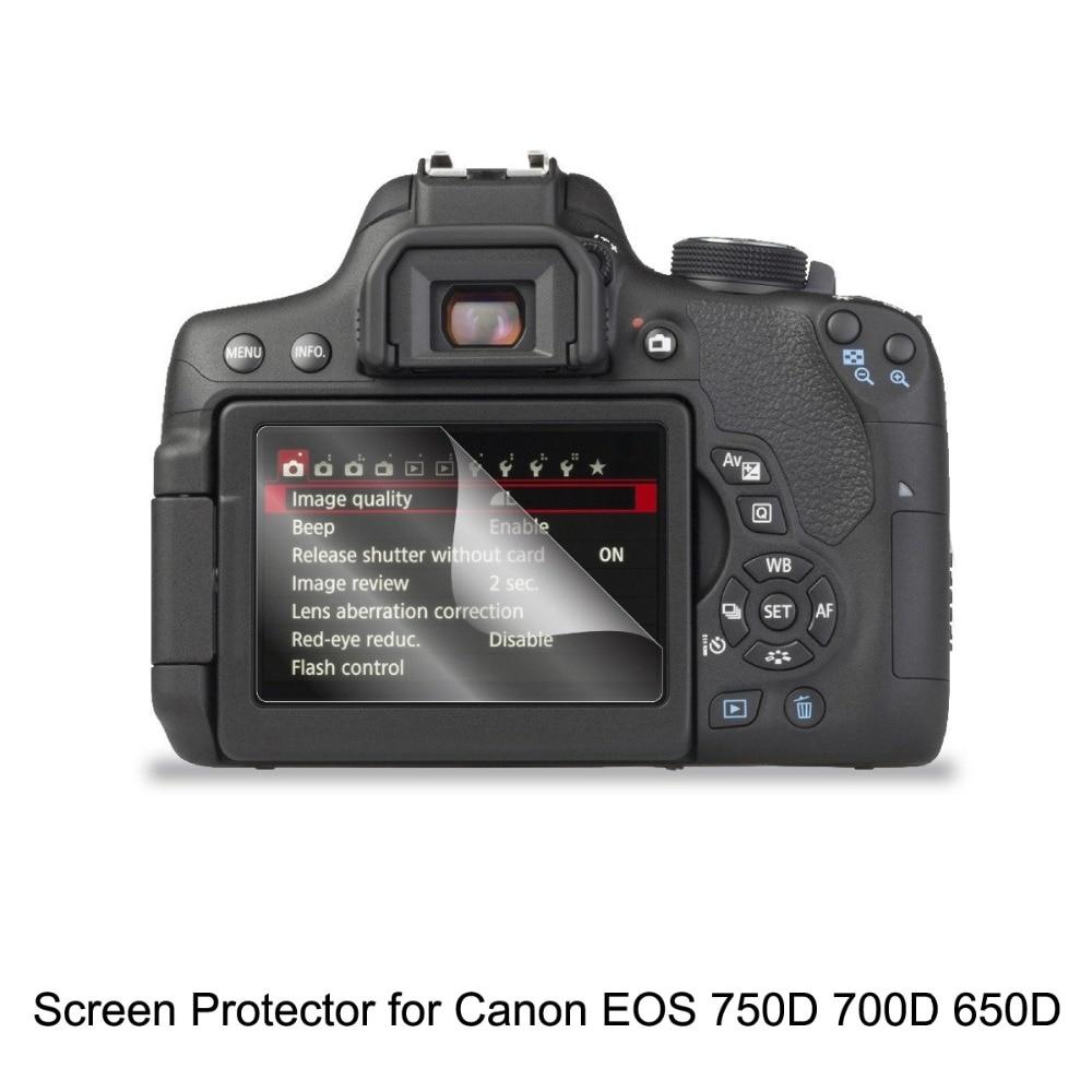 Cubierta protectora de pantalla LCD para Nikon D800 D810 Reemplazo accesorios de moda