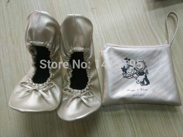 Desechable Gratis Plegable Con Impresa Boda Zapatos ¡envío Bolsa Caliente De Venta Bailarina tIqdxgwT