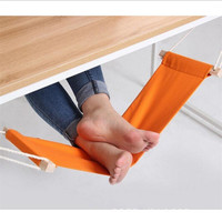 Portable Mini Foot Rest Stand Desk Feet Hammock Footrest For Office Hamac Hangmat Study Table Feet